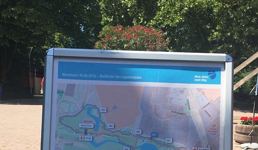 COPD – Patientenwandertag im Herzogenriedpark